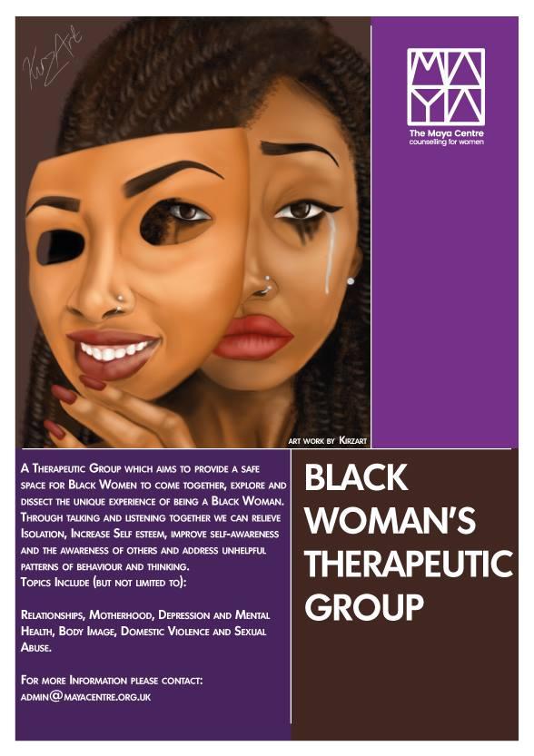 20 week Black Women's Group — The Maya Centre